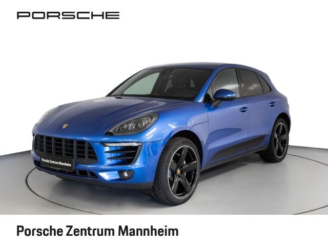 Porsche Macan S Xenon Luft Navi Bose SportChrono 21'', Jahr 2015, petrol