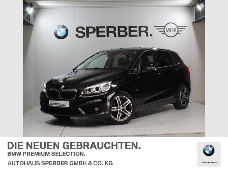 BMW 218d Active Tourer Sport Line LED Tempomat Shz, Jahr 2016, diesel
