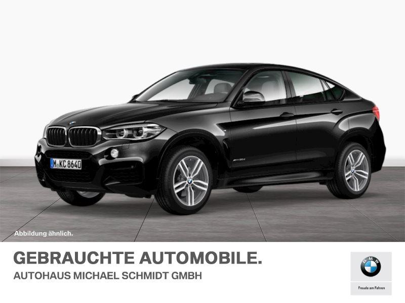 BMW X6 xDrive30d M SPORTPAKET+MEMORY+HUD+GLASDACH+, Jahr 2016, diesel
