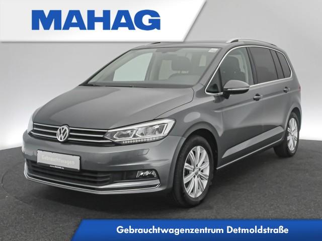 Volkswagen Touran 1.4 TSI Highline Navi LED Sitzhz. ParkPilot FrontAssist 17Zoll DSG, Jahr 2017, Benzin