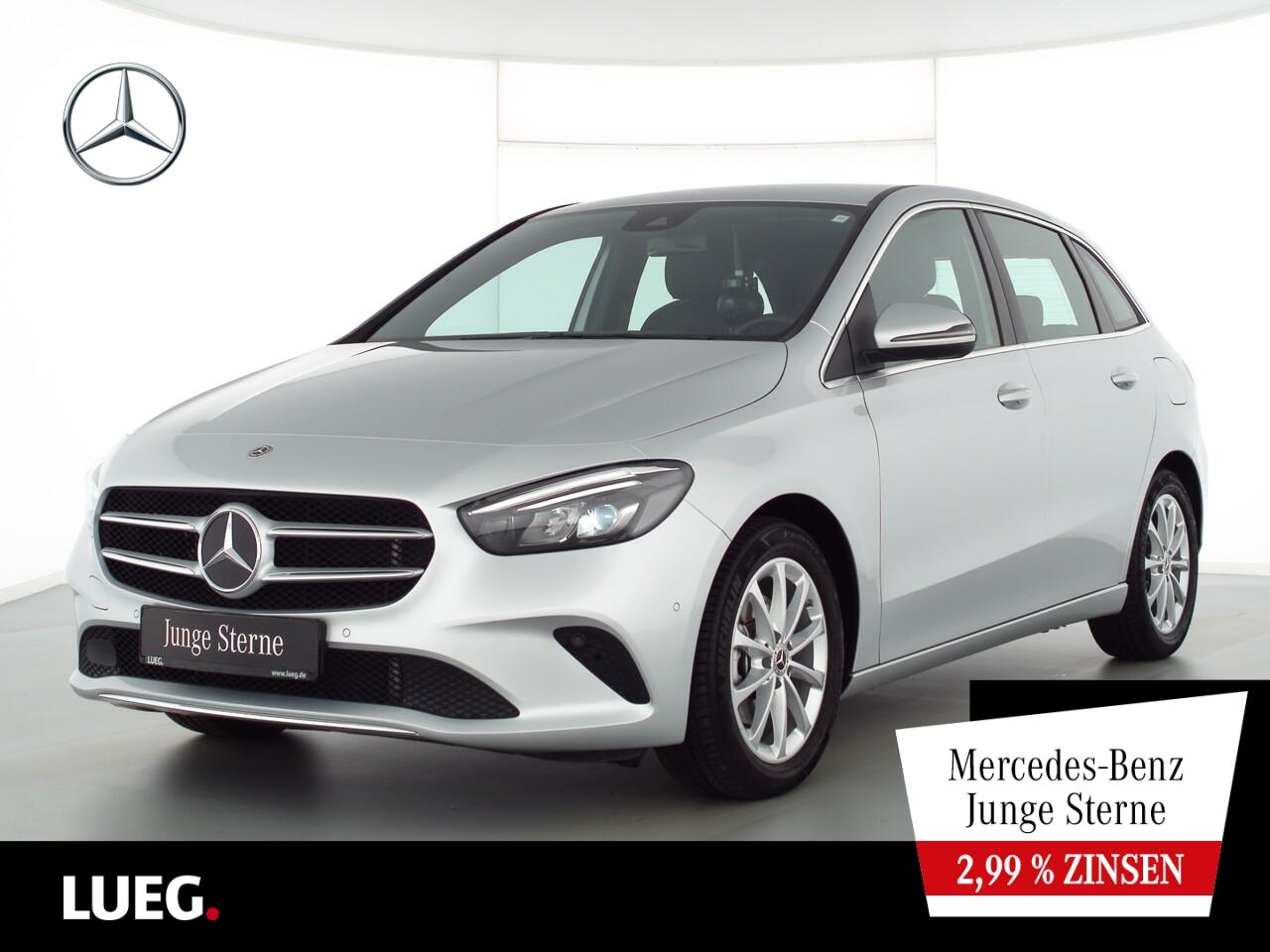 Mercedes-Benz B 200 Progressive+MBUX+NavP+LED-HP+eHeck+ParkAss, Jahr 2019, Benzin