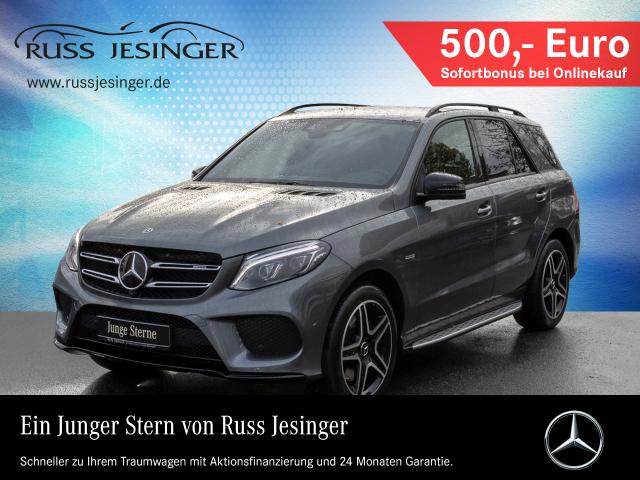 Mercedes-Benz GLE 43 AMG 4m +DISTRONIC+AHK+SOUNDSYSTEM+ Autom., Jahr 2017, Benzin