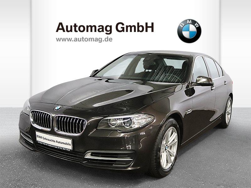 BMW 528i 1.Hd.*Scheckheft*Nav.Prof.*Head-Up*HiFi, Jahr 2016, petrol