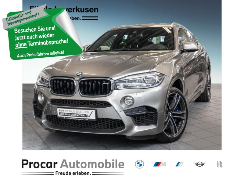 BMW X6 M M Drivers P. Head-Up Fond Entertainm., Jahr 2018, Benzin