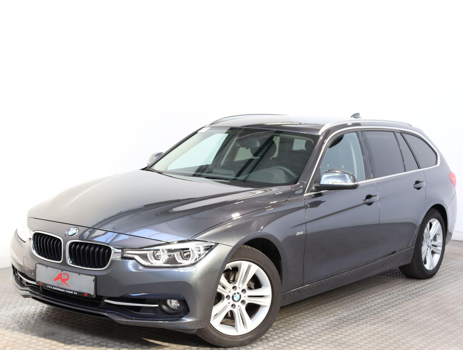 BMW 320 i T SPORT LINE HEADUP,NAVI,LED,SCHECKHEFT, Jahr 2017, Benzin