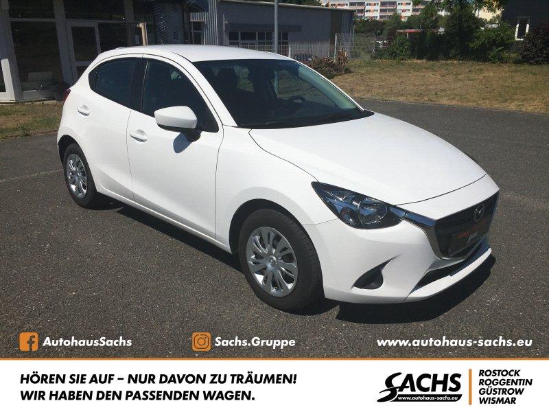Mazda 2 CENTER-LINE Klima 1.Hand, Jahr 2017, Benzin