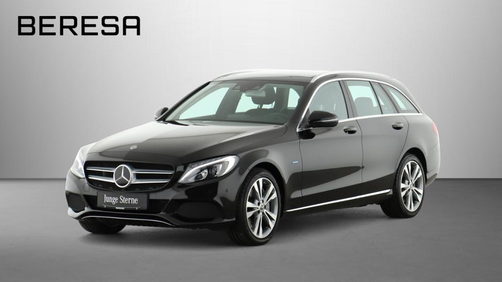 Mercedes-Benz C 350 e T Avantgarde Distr. Pano. Comand LED 18', Jahr 2017, Hybrid