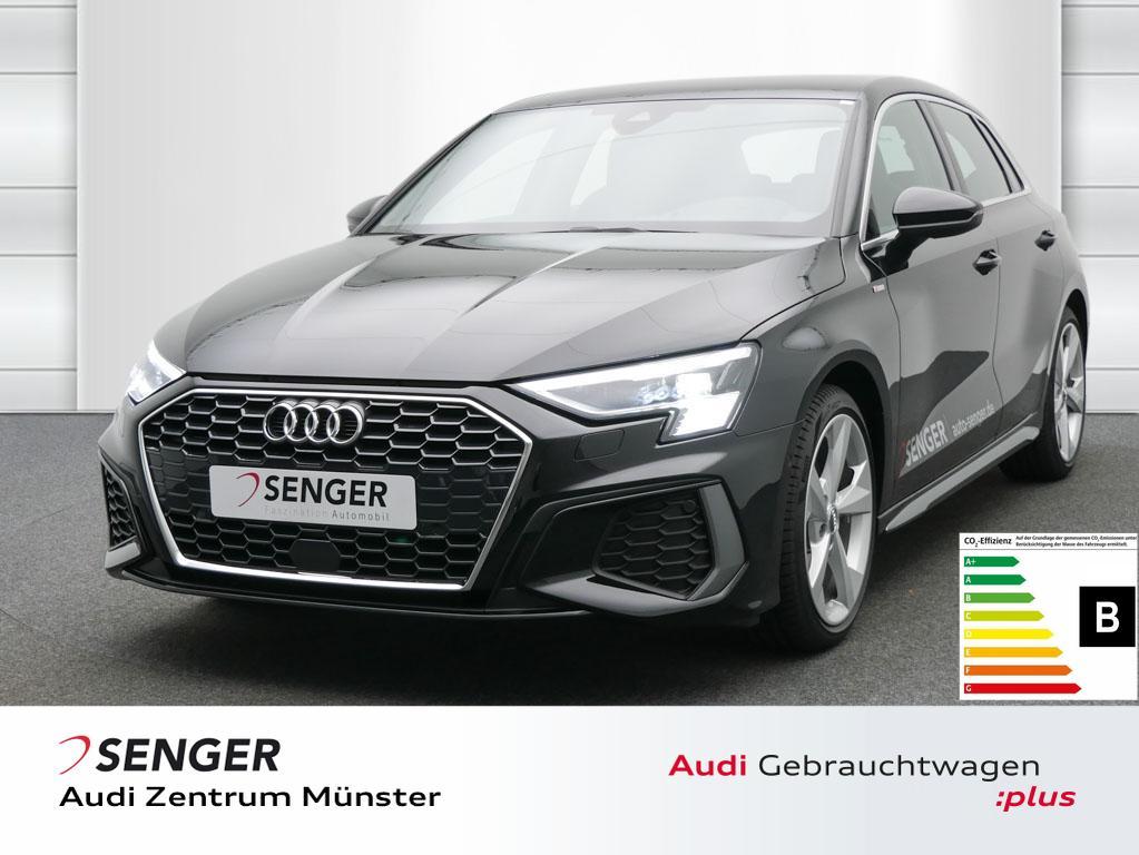 Audi A3 Sportback S line 35 TFSI Navi Matrix-LED ACC, Jahr 2020, Benzin