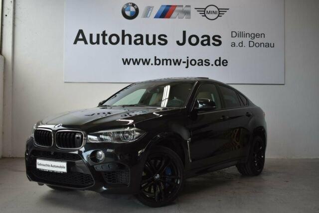 BMW X6 M (Night Vision M Drivers P. Head-Up Display, Jahr 2017, petrol