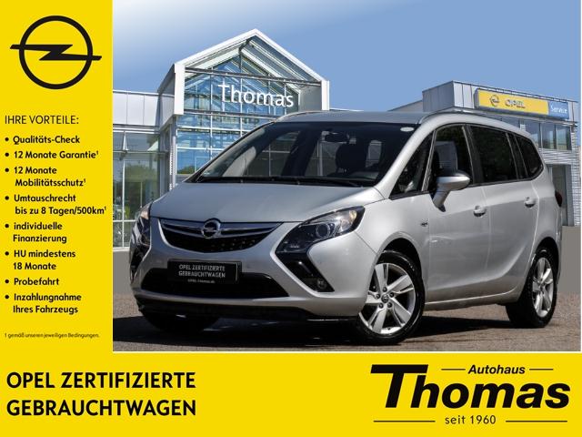 Opel Zafira Tourer 1.4 Turbo PDC SHZ Klimaauto. LMR Temp, Jahr 2014, Benzin