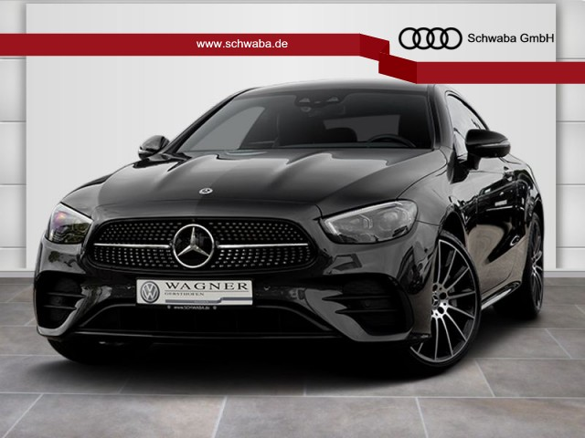 """Mercedes-Benz E 450 Coupé AMG Line 4Matic KAM*LED*VIRTUAL*19"""", Jahr 2020, petrol"""