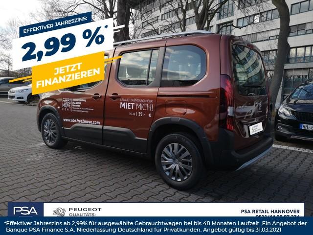 Peugeot Rifter NEW BlueHDI 100 L1 Allure SH/KAMERA EPH/NAVIGATION, Jahr 2020, Diesel