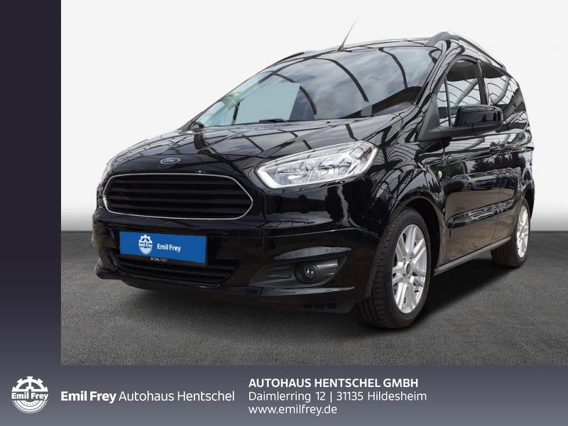 Ford Tourneo Courier 1.0 EcoBoost Titanium, Jahr 2016, Benzin