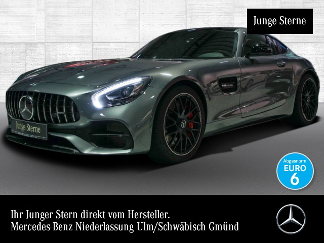"Mercedes-Benz AMG GT C Cp. Perf-Sitze/AbGas 20"""" Night Pano, Jahr 2018, petrol"