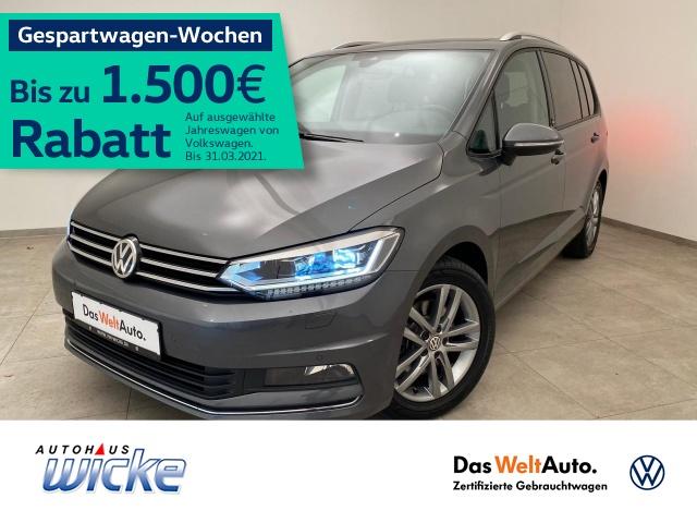 Volkswagen Touran 1.4 TSI DSG SOUND 7 Sitzer ACC Navi PDC, Jahr 2017, Benzin