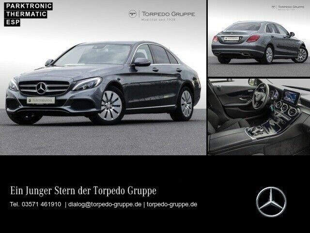 Mercedes-Benz C 350 e AVANTGARDE LED+AIRMATIC+PTS+SHZ+KLIMA, Jahr 2017, Hybrid