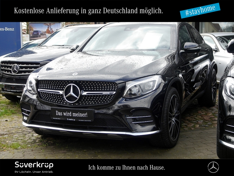 Mercedes-Benz GLC 43 AMG 4M Coupé ABC Navi LED AHK Burmester, Jahr 2017, Benzin