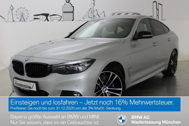 BMW 330 Gran Turismo i xDrive Sportpaket M Sportbr., Jahr 2019, Benzin
