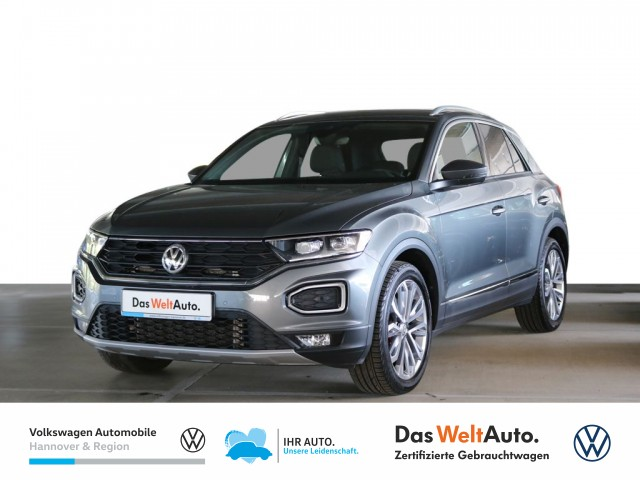 Volkswagen T-Roc 2.0 TSI DSG Sport 4Motion Navi Klima Einparkhilfe ACC, Jahr 2018, Benzin