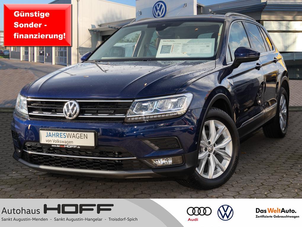 Volkswagen Tiguan TDI DSG Highline Leder AHK HeadUp Kamera, Jahr 2020, Diesel