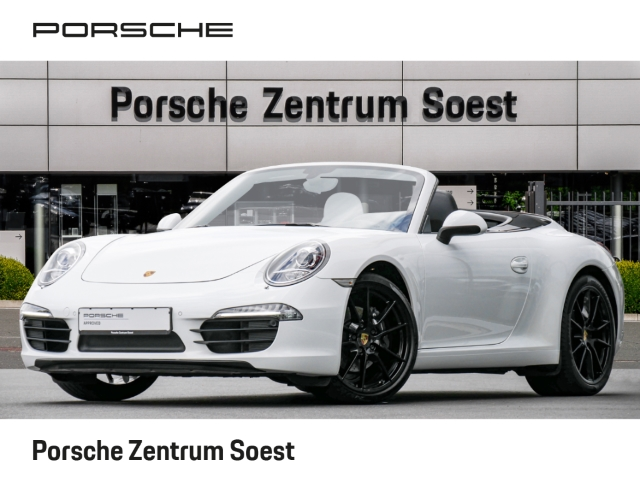 Porsche 991 911 Carrera Cabrio/SPORTABGAS/NAVI/SCHALTER, Jahr 2013, Benzin
