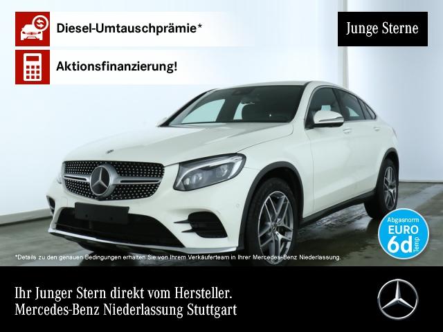 Mercedes-Benz GLC 300 Cp. 4M AMG Distr. ILS LED SHD Navi SpurPak, Jahr 2018, petrol