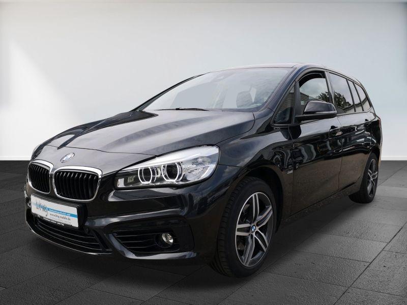 BMW 218d Gran Tourer Aut. Sport Line AHK Navi Rückfahrk., Jahr 2016, Diesel