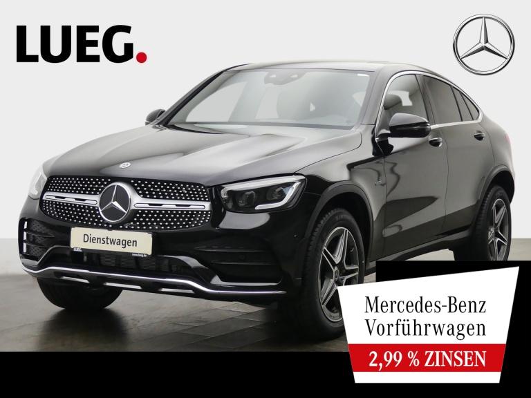 Mercedes-Benz GLC 300 e 4M Coupé AMG+SHD+AHK+DISTRONIC+MEMORY, Jahr 2020, Hybrid