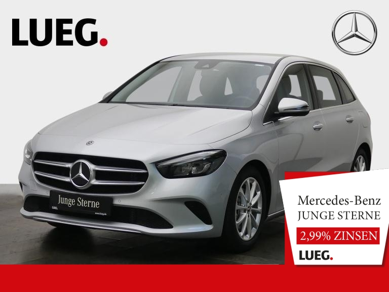Mercedes-Benz B 200 Progressive+MBUX+NavPrem+AHK+Spur+ParkAsst, Jahr 2019, Benzin