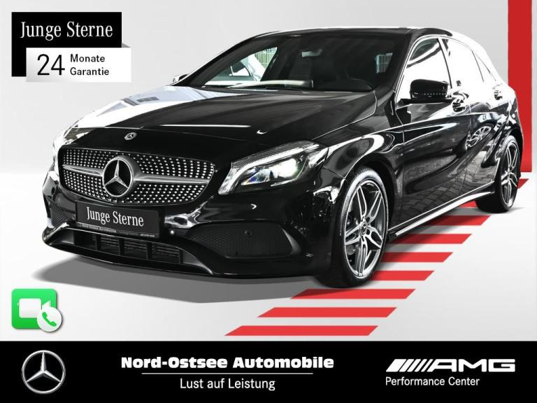 Mercedes-Benz A 180 AMG line Navi Pano Keyless Sitzhz Tempo, Jahr 2017, Benzin