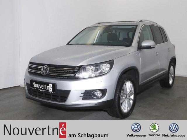 Volkswagen Tiguan Cup 2.0 TSI + Panorama + Tempomat + PDC +, Jahr 2014, Benzin