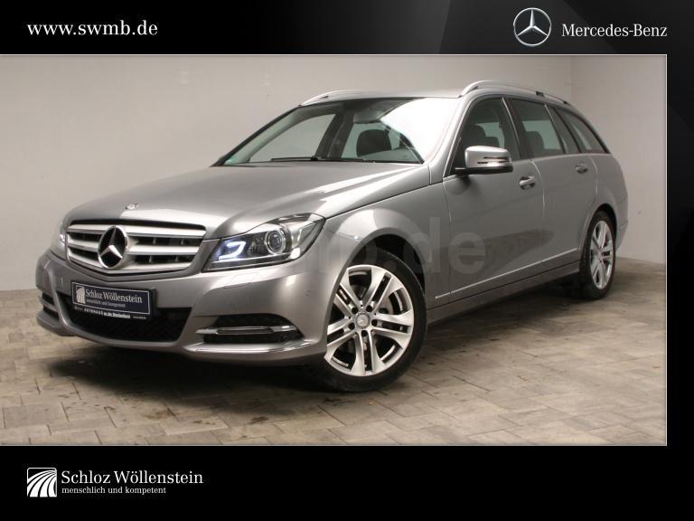 Mercedes-Benz C 200 T Avantgarde 1.Hand/7G-Tronic/ILS/Sitzhzg, Jahr 2013, Benzin