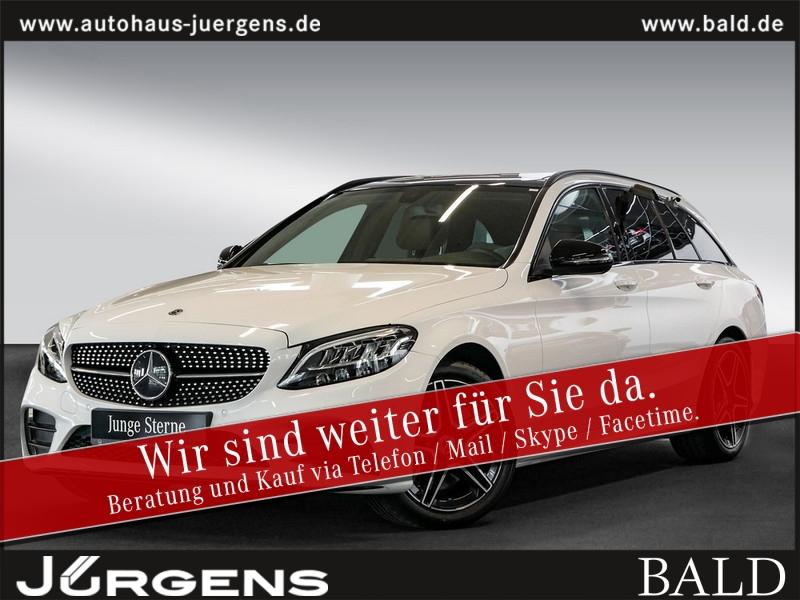 Mercedes-Benz C 400 4M T AMG-Sport/Navi/Wide/LED/Cam/Pano/18', Jahr 2018, Benzin