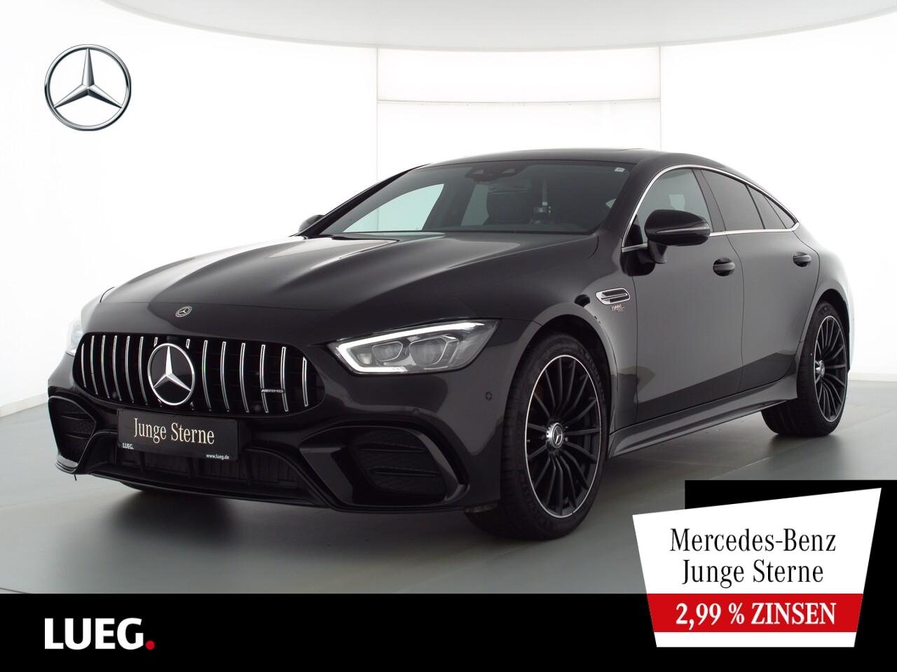 Mercedes-Benz AMG GT 43 4M+ Navi+SHD+Burm+Mbeam+Widesc+PfAbGas, Jahr 2019, Benzin