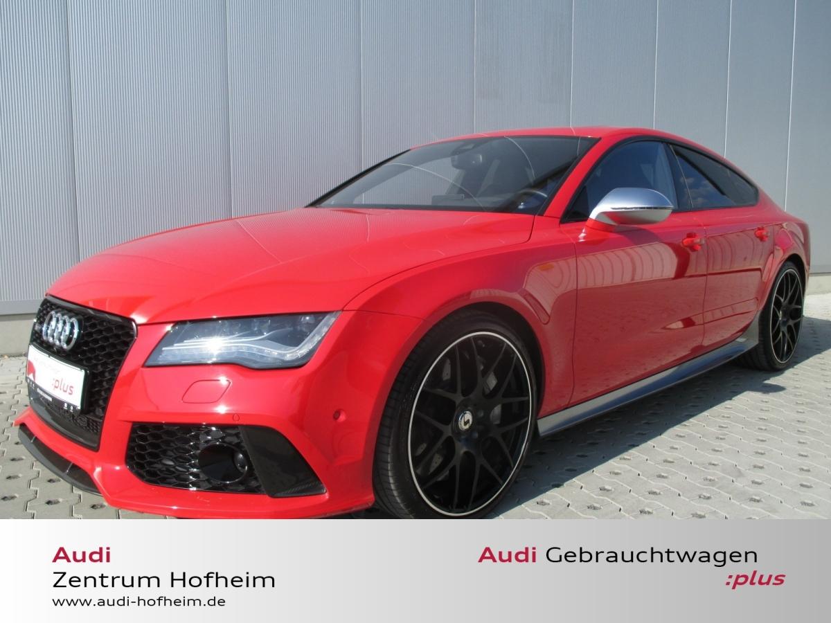 Audi RS7 4.0 TFSI 412 KW*Dynamik plus*B&O*SportabGas*, Jahr 2013, Benzin