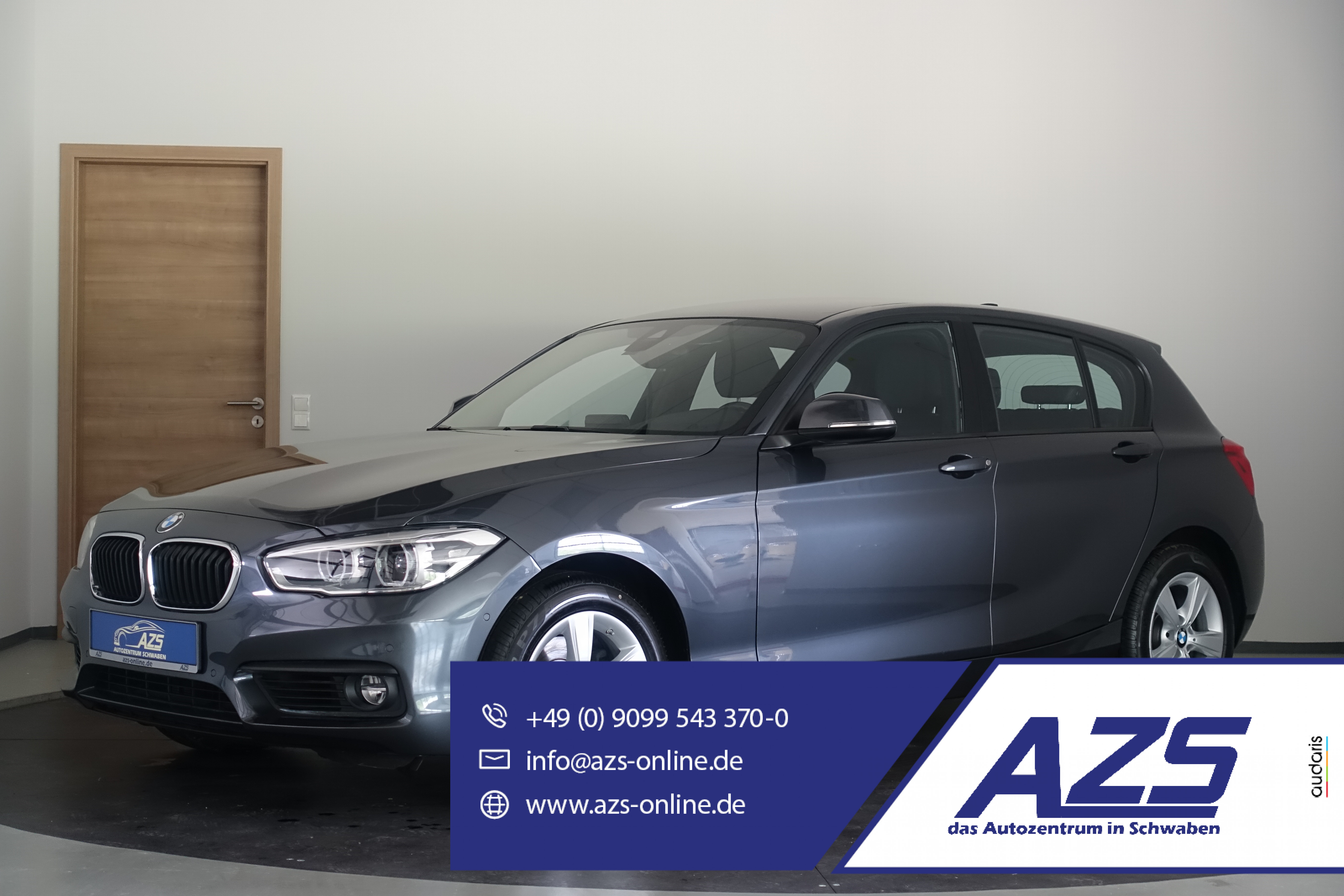 BMW 120i Advantage   Leder   Navi   LED   Parkhilfe, Jahr 2018, Benzin