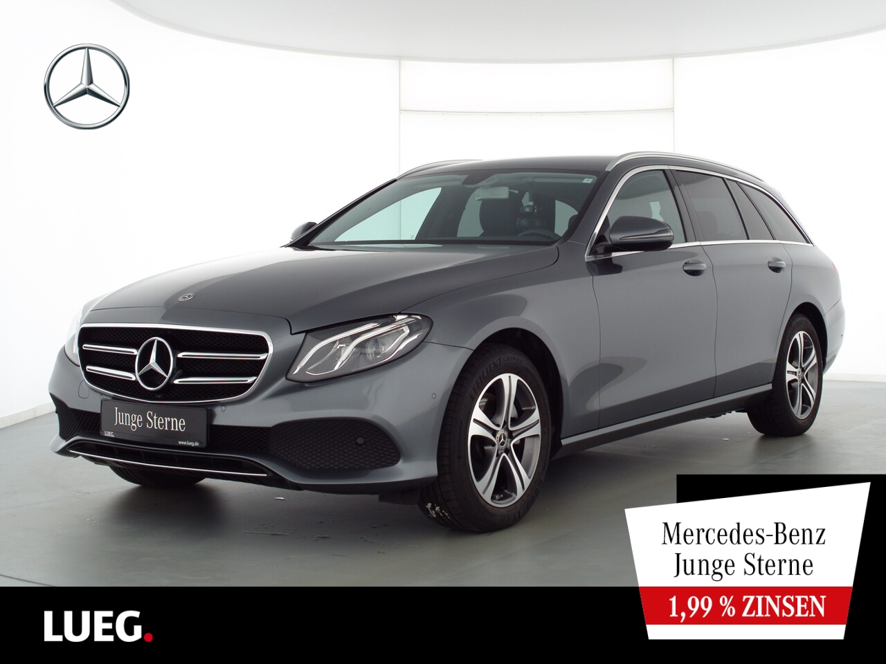 Mercedes-Benz E 200 T Avantgarde+Navi+LED-HP+Totw+ParkA+Kamera, Jahr 2019, Benzin