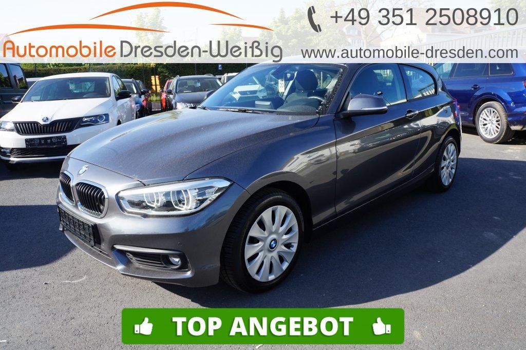 BMW 116 i Advantage*Navi*LED*PDC*ConnectedDrive*, Jahr 2017, Benzin