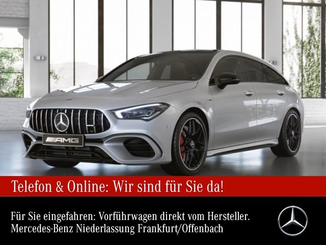 Mercedes-Benz CLA 45 S 4MATIC Shooting Brake Sportpaket Navi LED, Jahr 2020, Benzin