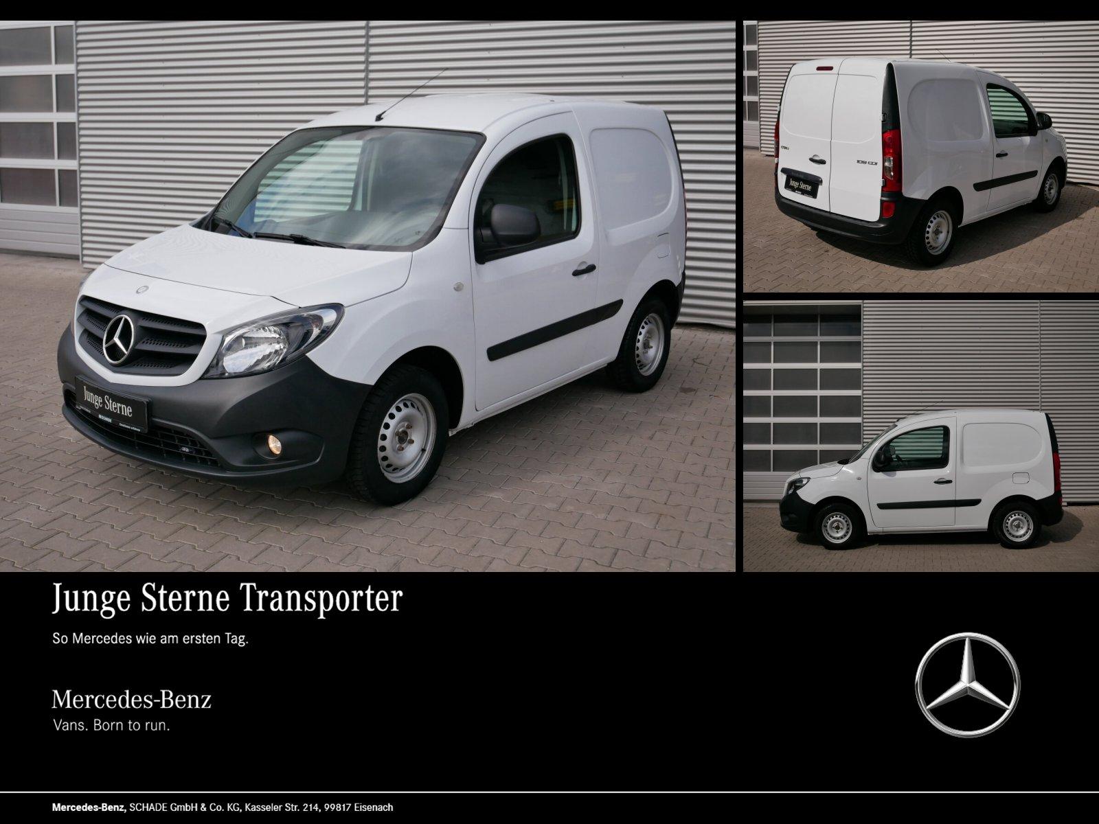 Mercedes-Benz CITAN 109 KASTEN KOMPAKT KLIMA RADIO EURO6 Basic, Jahr 2017, Diesel