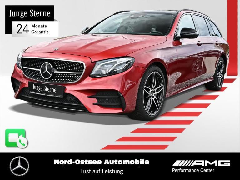 Mercedes-Benz E 53 AMG T 4M Comand HeadUp Sitzklima Burmester, Jahr 2018, Benzin
