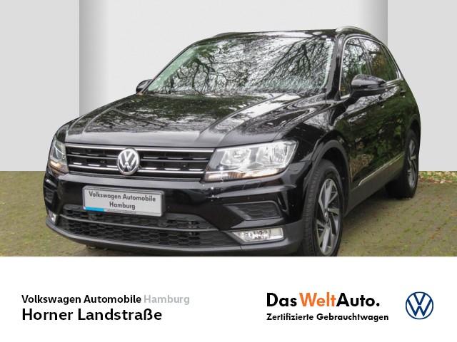 Volkswagen Tiguan 1,4 TSI DSG SOUND LM AHK anklappbar Klimaautomatik Navi Sitzhzg vorn, Jahr 2017, Benzin