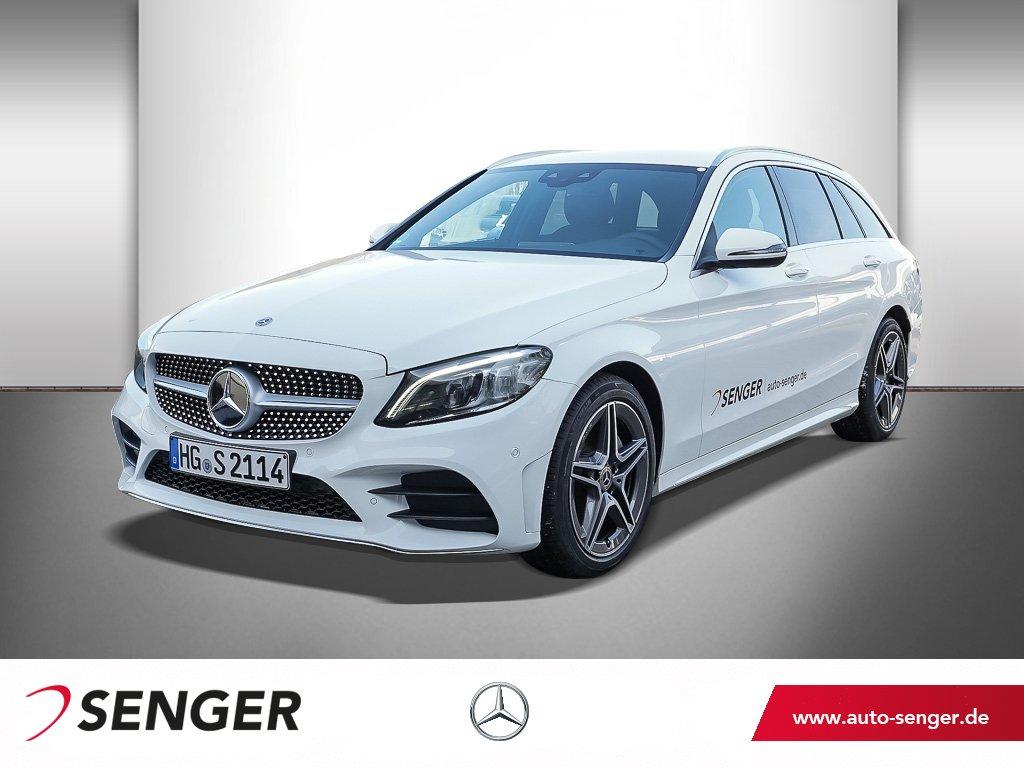 Mercedes-Benz C 180 T-Modell AMG Line LED Keyless-GO Sitzhzg., Jahr 2021, Benzin