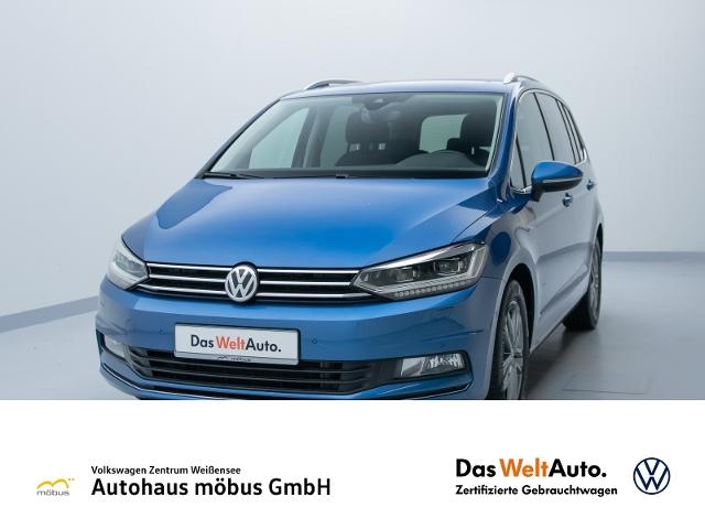 Volkswagen Touran 2.0 TDI DSG**HIGHL*AHK*DCC*PANO*RFK*DAB**, Jahr 2016, Diesel