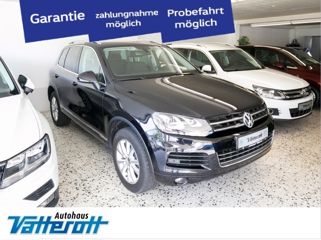 Volkswagen Touareg 3.0 V6 TDI AHK Xenon Bluetooth, Jahr 2013, Diesel