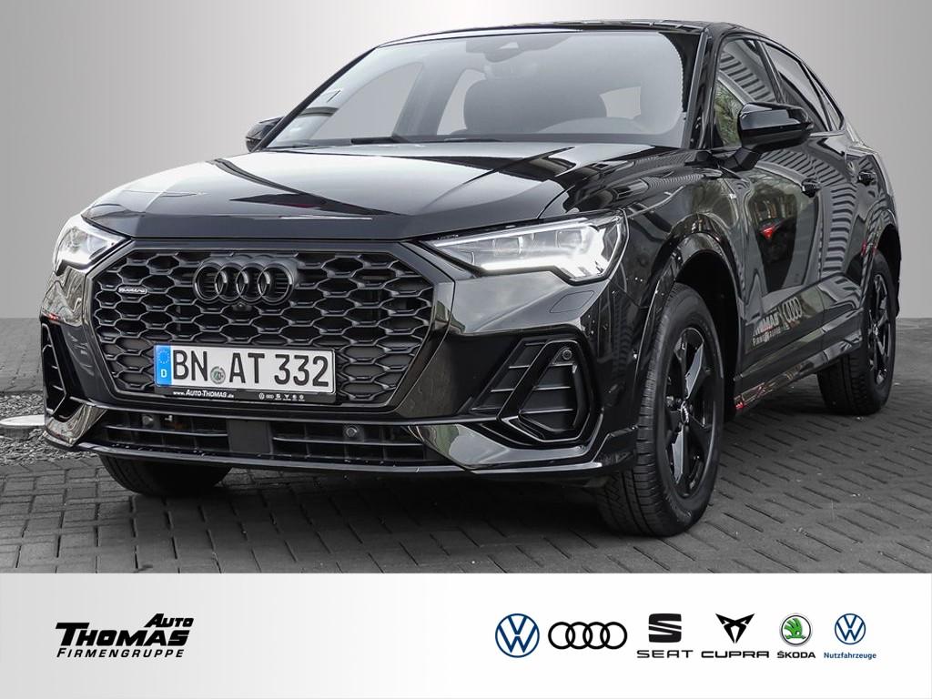 Audi Q3 Sportback S line 40 TDI quattro S tronic+AHK, Jahr 2020, Diesel