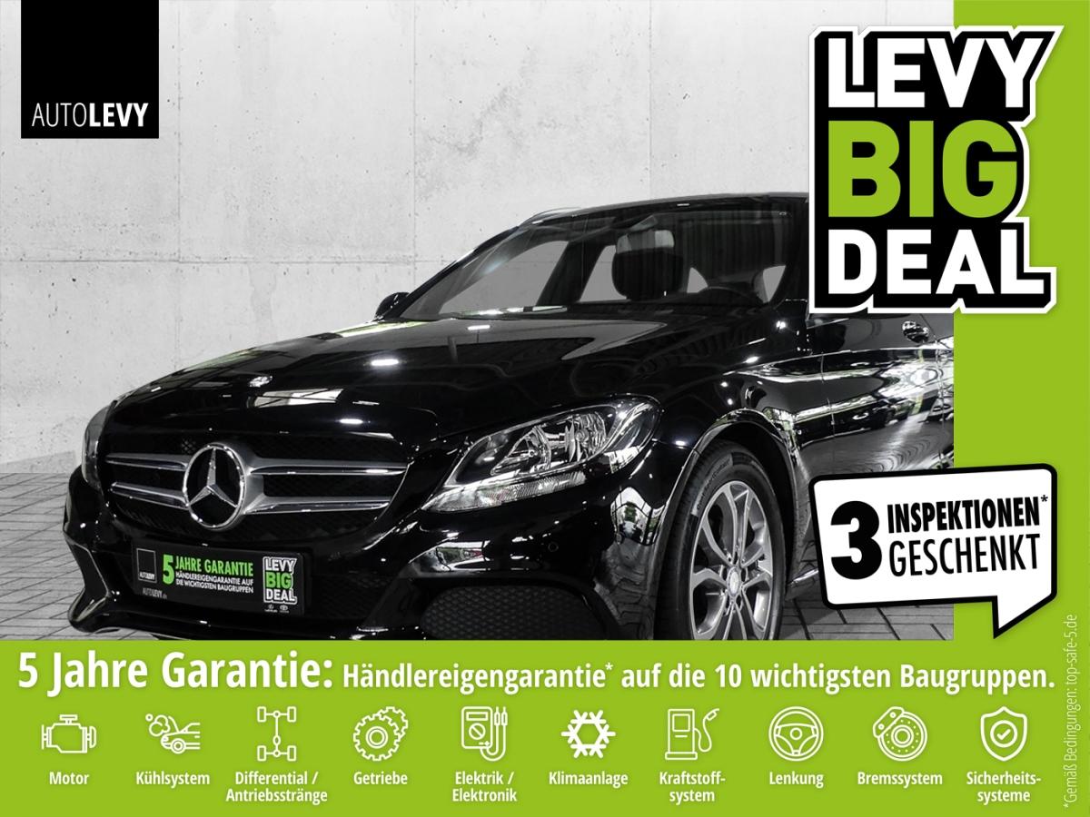 Mercedes-Benz C 200 T AVANTGARDE *Business-Paket*NAVI*SHZ*LMF*, Jahr 2016, Benzin