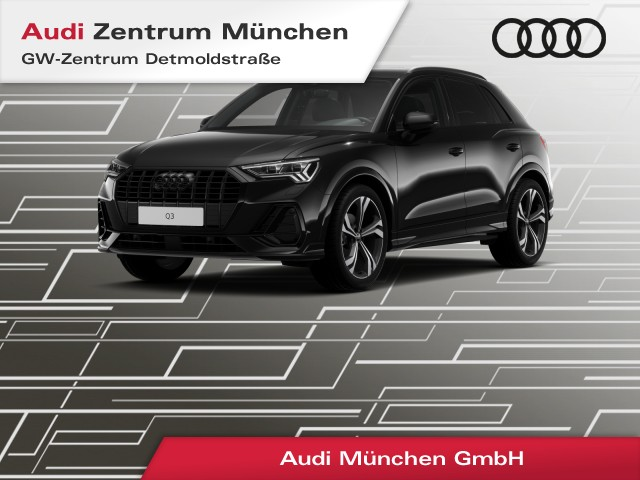 "Audi Q3 35 TFSI S line 20"" Virtual+ Matrix Navi Teilleder el.Heckklappe S tronic, Jahr 2021, petrol"