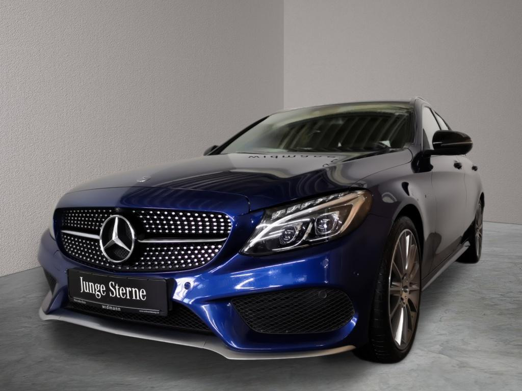 Mercedes-Benz C 450 AMG 4M T Burmester*Comand*360°*LED*PDC, Jahr 2016, Benzin