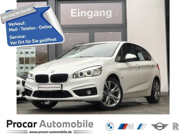 BMW 218 Active Tourer Aut. Navi LED PA Shz Klimaaut, Jahr 2018, Benzin